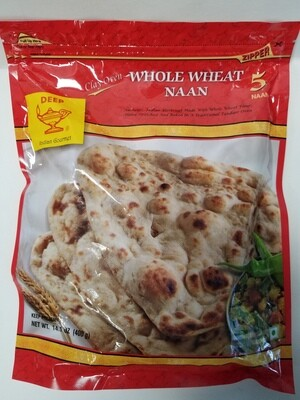 Deep - Whole Wheat Naan (14oz)