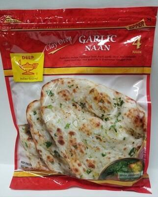 Deep - Garlic Naan Tandoor (4pc)