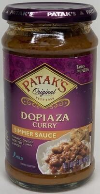 Patak - Dopiaza Sauce  (15oz)