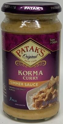 Patak - Korma Sauce  (15oz)