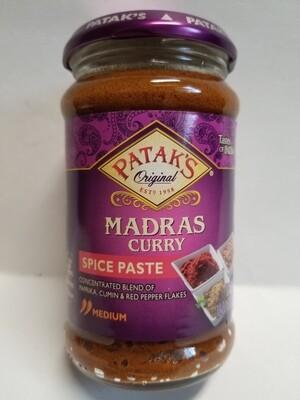 Patak - Madras Curry Paste (10oz)