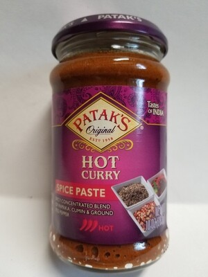 Patak - Curry Extra Hot Paste  (10oz)