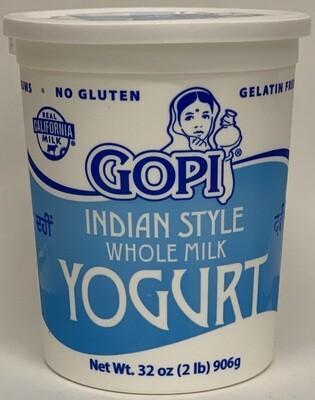 Gopi - Whole Milk Yogurt (2lb)