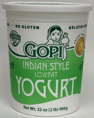 Gopi - Low Fat  2% Yogurt (2lb)