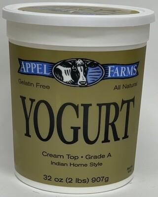 Apple Farm - Yogurt Plain Whole  (32oz)