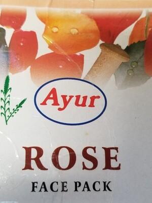 Ayur - Face Pack Rose (100gr)