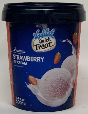 Vadilal - Strawberry (500ml)