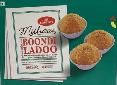 Haldiram - Boondi Ladoo (360gr)