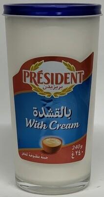 President - Cream cheese  (240g )