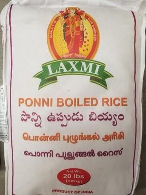 Laxmi - Ponni Boiled Rice  (20lb)