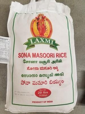 Laxmi - Sona Masoori Rice  (20lb)