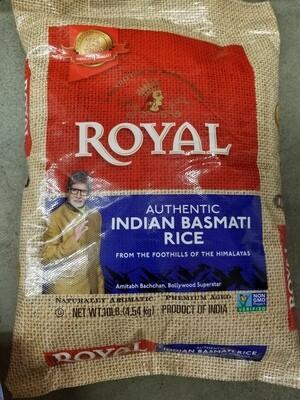 Royal - Basmati Rice Jute Bag (10lb)