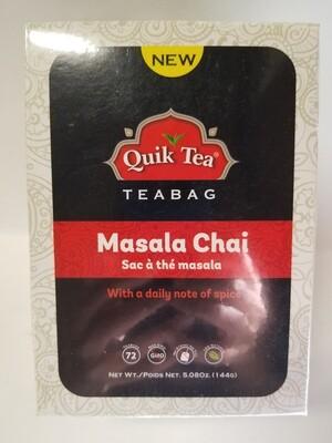 Quik Tea - Masala Tea Bags  (72bg)