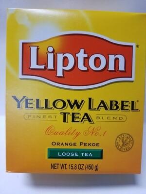 Lipton Yellow Label  - Tea Leaves (450gr)