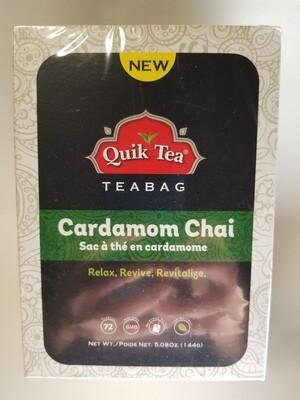 Quik Tea - Cardamom Elaichi Tea Bags (72bg)