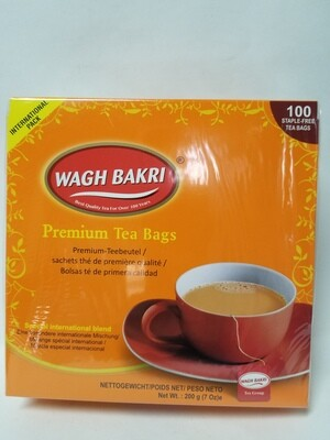 Wagh Bakri  - Tea Bags  (100tb)
