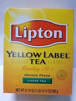 Lipton Yellow Label  - Tea Leaves (900gr)