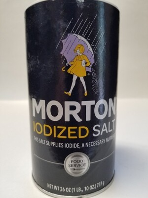 Morton - Salt Iodized (26oz)