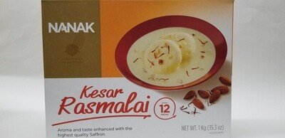 Nanak - Kesar Rasmalai (1kg)