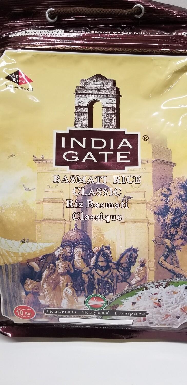India Gate Basmati Rice 10lb