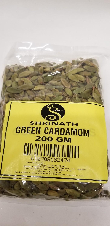 Shrinath - Cardamom Green Whole (200g)