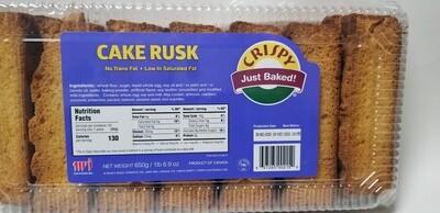 Crispy - Cake Rusk (650gr)