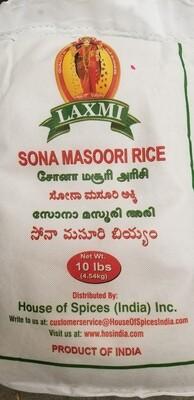 Laxmi - Sona Masoori Rice  (10lb)