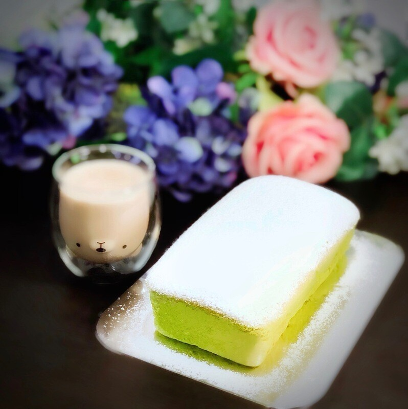 Kyoto Matcha Japanese Cheesecake
