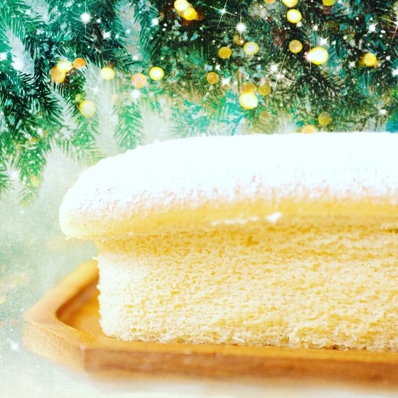 Summer Coconut Japanese Cheesecake