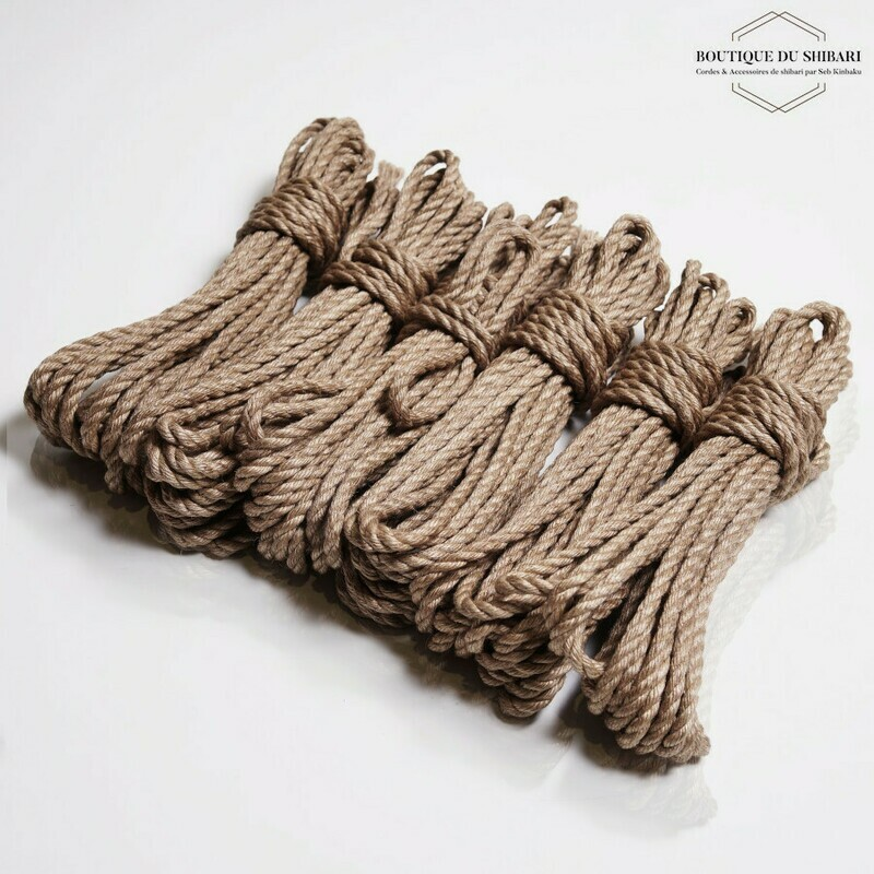 6 SHIBARI JUTE ROPES 6mm