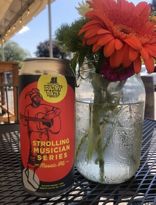 CANS Strolling Musician Mosaic IPA