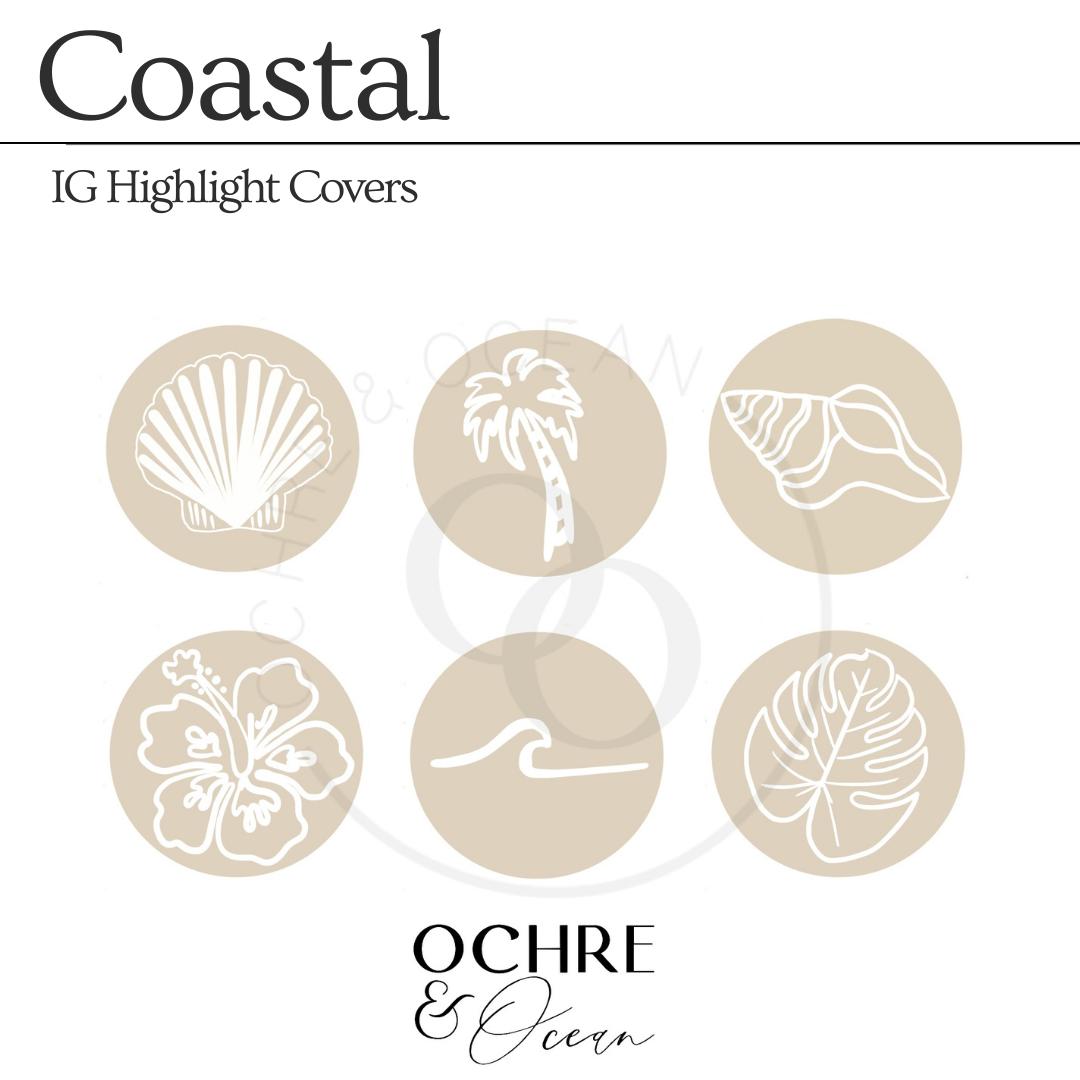 COASTAL IG Highlight Covers Bundle