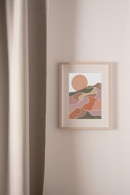 SCENIC Sunset Print