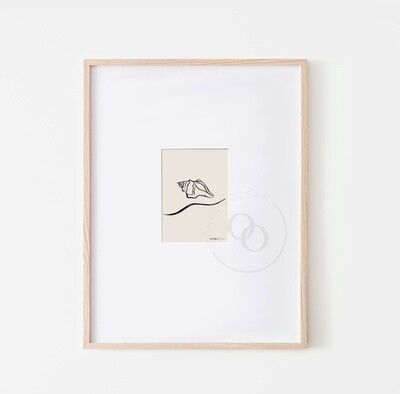 A6 Tidal Mini Print