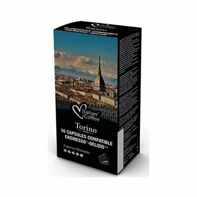 16 Kapseln Delizio® Kompatibel Italian Coffee