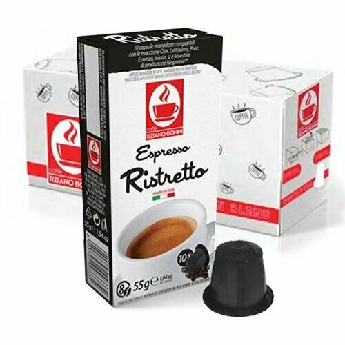 10 Kapslen   TIZIANO BONINI Nespresso® Komp.