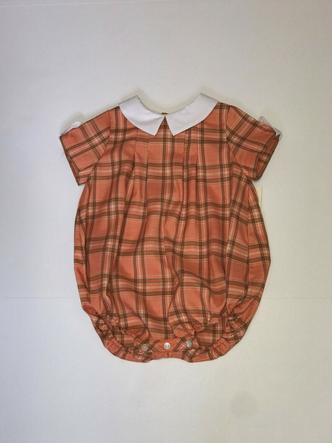 Pumpkin Plaid Bubble