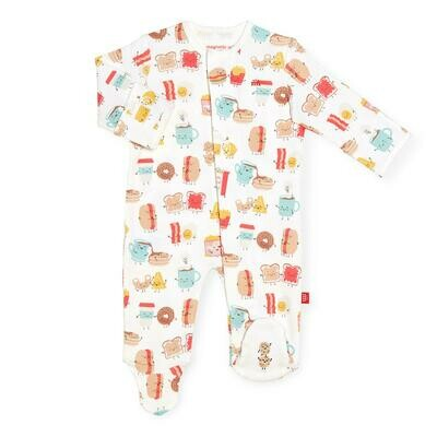 Magnetic Footie Organic Cotton Better Together