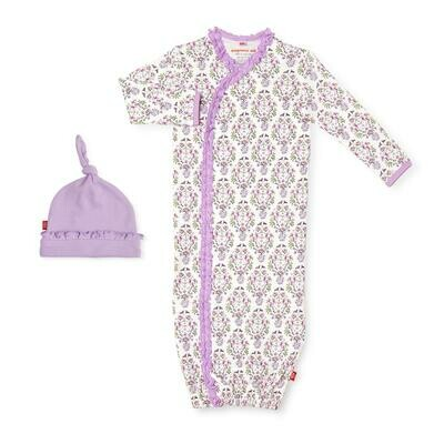 Magnetic Gown Set Organic Cotton Unicorn Dreams