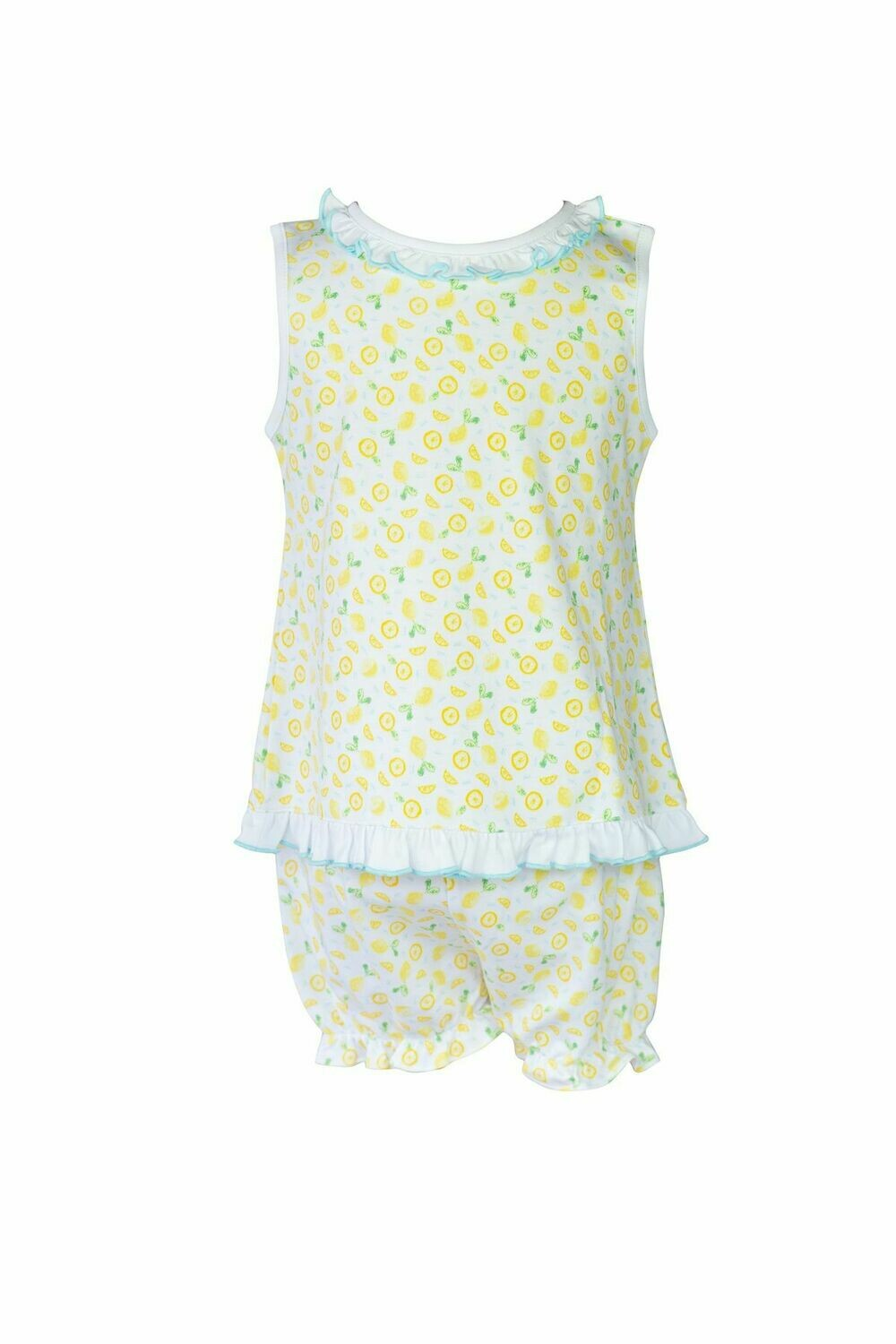 PP Ruffle Sleeveless Bloomer Set