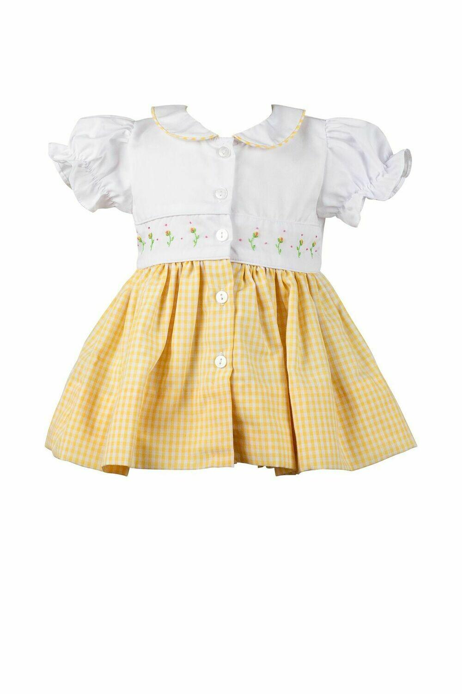 Daphne Yellow Dress