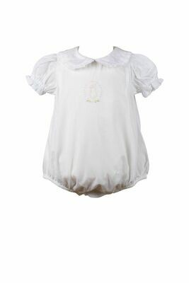 Bea White Layette Bubble