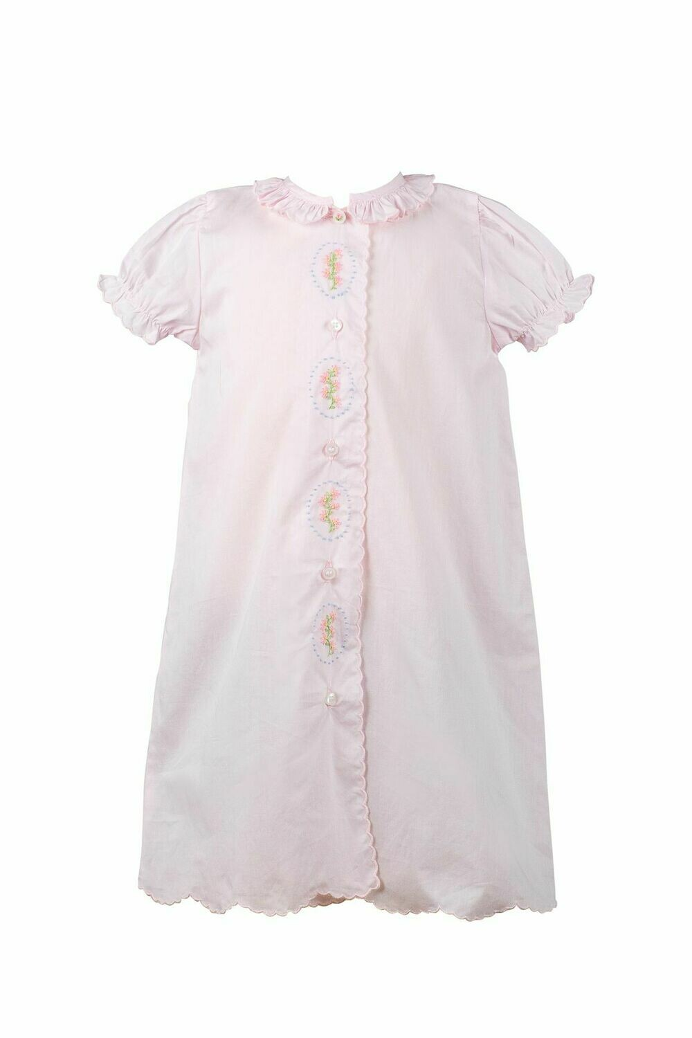 Lucille Pink Layette Gown
