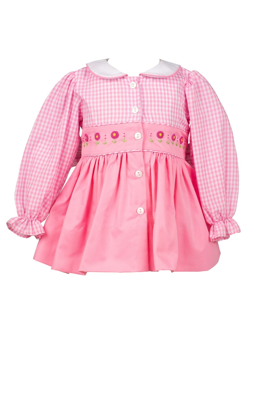 Tallaluh Pink Gingham Dress
