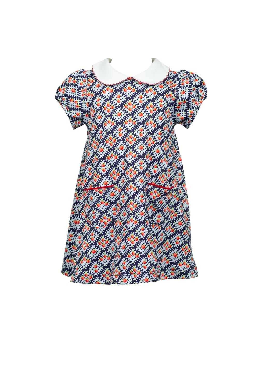 Apple Plaid Dress
