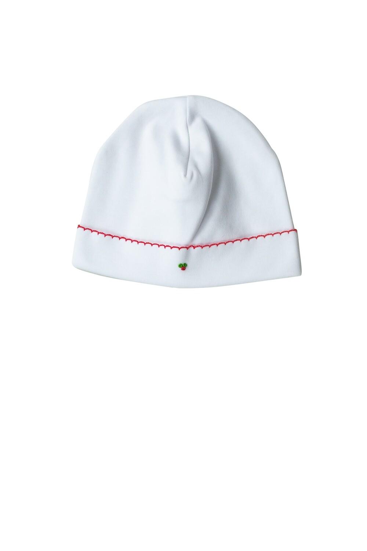 White Christmas Hat
