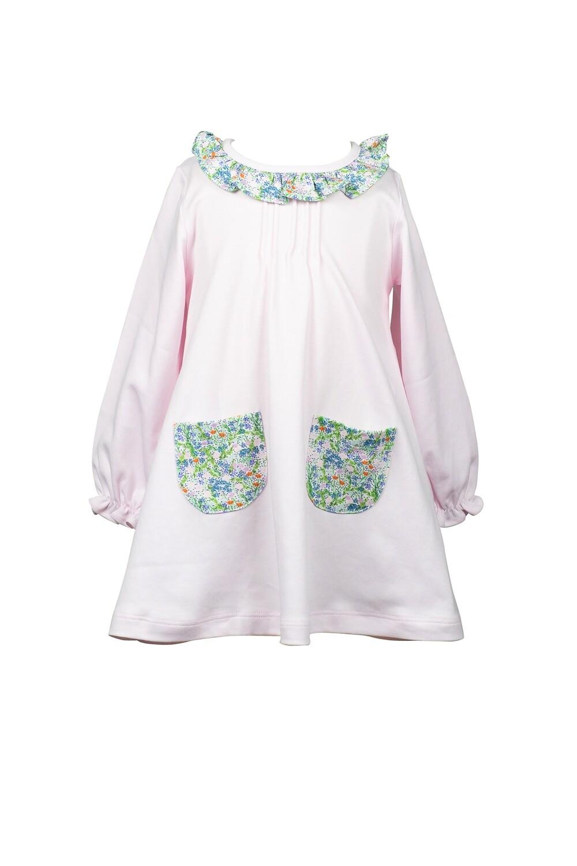 Fall Floral A-line Dress
