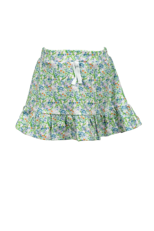 Fall Floral Skirt