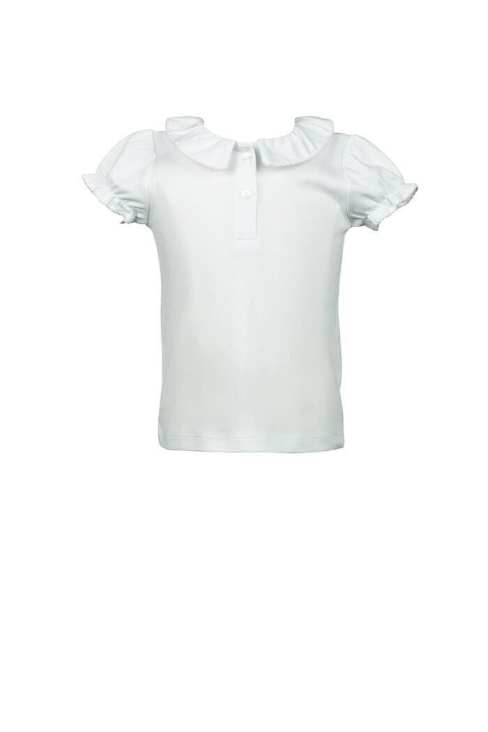 Rainbow Split Collar Shirt