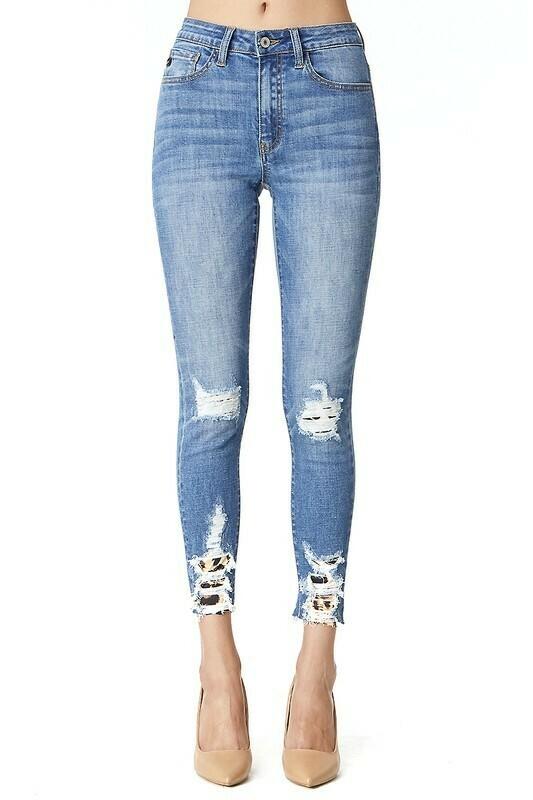 A4 Cheetah Jeans